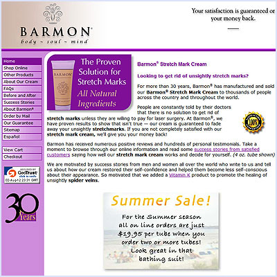 Barmon Stretch Mark Cream