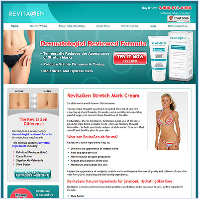 Revitagen Stretchmark Cream