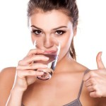 water drinking for skin